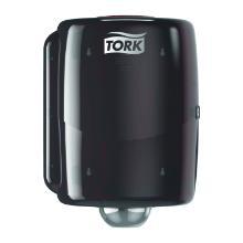 Dispenser Aftørringsrulle Tork W2 Vægophæng op til 30 cm Rød/Sort product photo