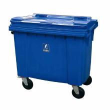 Affaldscontainer 1000 ltr 4-hjulet blå product photo