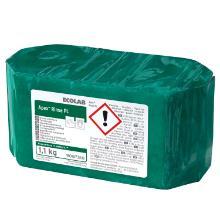 Maskinopvask Afspænding Fast Apex Rinse PL til plast Blødt vand 1.1 kg Grøn product photo