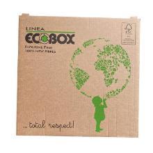 Pizzaæske 29x29x3 cm FSC-mærket KSK 100% nye fibre Ecobox Globo Brun product photo