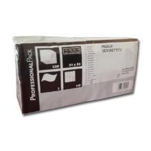 Serviet Fasana 33x33 1/8 fold cm 1 lag hvid product photo