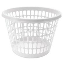 Vasketøjskurv 20 kg Ø44x33 cm Hvid til 16877 product photo