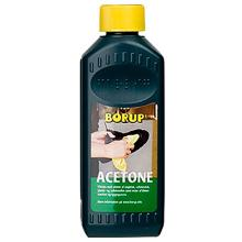 Acetone Borup opløsningsmiddel til affedtning 500 ml product photo