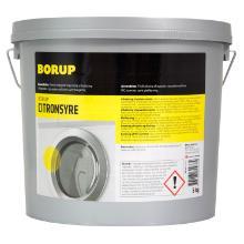 Citronsyre pulver Borup til afkalkning Fødvarekvalitet 5 kg product photo