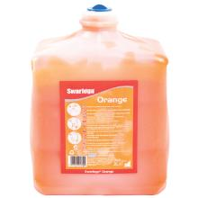 Håndrens Swarfega Orange til Deb Cleanse Heavy 2000 dispenser 2 ltr orange product photo