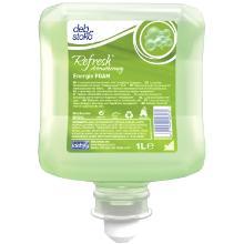Skumsæbe Refresh Energie FOAM med Farve/Parfume til Dispenser 1 ltr Grøn product photo
