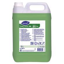 Universalrengøring Gulv Jontec 300 F4a Neutral pH med Farve/Parfume 5 ltr Grøn product photo