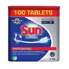 Maskinopvask Tabs Sun Pro Formula Classic uden Klor Enkeltindpakket product photo