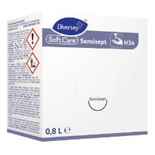 Håndsæbe Flydende Soft Care Line Sensisept H34 Desinf uden Farve/Parfume 800 ml product photo