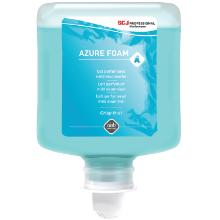 Skumsæbe Refresh Azure Foam Wash Blomstermærket med Farve/Parfume 1 ltr Blå product photo