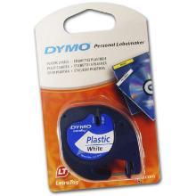 Teksttape Dymo Letratag 12 mm x 4 m 91221 Hvid product photo