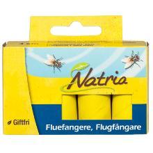 Insektbekæmpelse Natria fluespiral med klæbemiddel til indendørs brug 4 stk product photo