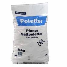 Salttabletter Brøste saltpoletter til blødgøringsanlæg til opvaskemaskiner 25 kg product photo