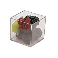 Cube 40x40x40 mm Mini Klar product photo