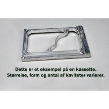 Kassette Bakke 1/8 GN 2-rum 4 kav Bakke 38071 ML/2 product photo