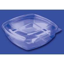 Plastbakke SquarePac 1000 ml 192x190x54 mm Hængslet låg APET Klar product photo