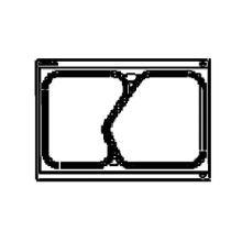 Kassette t/1/4 GN 2-rum Bakke 855037 passer til TP11/DF20 product photo