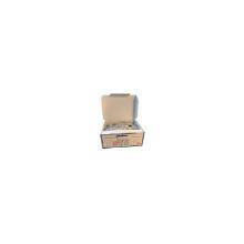 Tandstik 65 mm træ trekantet enkeltpak i klar hvid folie Multiline bionedbrydeli product photo