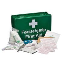 Førstehjælpskasse komplet uden vægbeslag product photo
