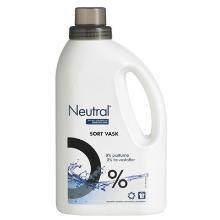 Tøjvask Flydende Neutral Black Svane u/Parfume/Blegemiddel/Optisk hvidt 1070 ml product photo