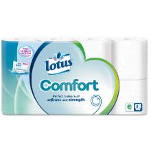 Toiletpapir Lotus Comfort Super Soft 3-lag 19.07 m product photo