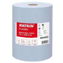 Aftørringsrulle Katrin Classic XXL Industrirulle 2-lag 38 cm x380 m Blå product photo