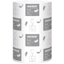 Håndklæderulle Katrin Plus S 1-lag 20.5 cm x110 m Uperforeret Hvid product photo