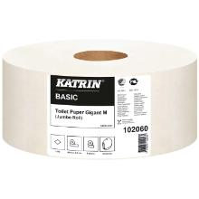 Toiletpapir Katrin Basic 1-lag Ø23.5 cm 435 m Uperforeret product photo