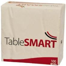 Serviet TableSMART 40x40cm 3-lag hvid product photo