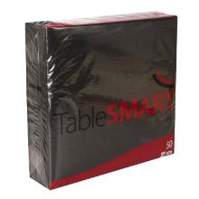 Serviet TableSMART airlaid 40x40 cm 1/4 fold Sort product photo