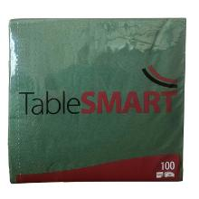 Serviet TableSMART 40x40 cm 3-lag Mørkegrøn product photo