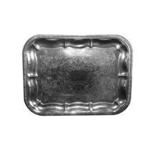 Serveringsfad 31x41 cm Rektangulær Sølvblik product photo