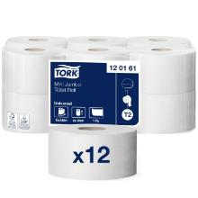 Toiletpapir Tork Jumbo Universal T2 Mini 1-lag 240 m product photo