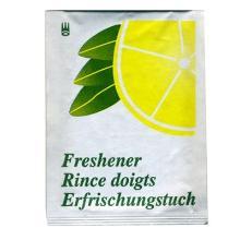 Fugtighedsserviet med citronduft enkeltpakket product photo