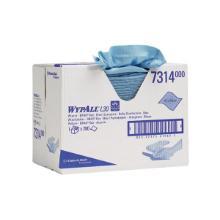 Aftørringsklud Wypall L30 2-lag 420x330 mm Boks Blå product photo
