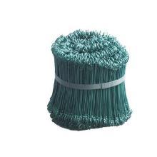 Stålsnøre 15 cm PE Belagt Grøn product photo