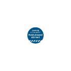 Gulvmærke Hold afstand - stå her Ø330 mm tykkelse 0.2 mm BLÅ product photo