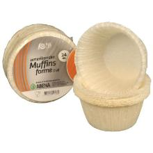 Muffin/Bageform Ø50x35 mm Hvid product photo