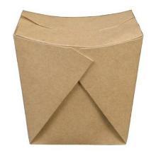 Takeaway boks 700 ml 108x106x105 mm Brun product photo