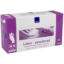 Handske Engangs Latex XS 5-6 med Pudder product photo