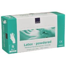 Handske Engangs Latex S 6-7 med pudder product photo