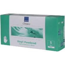 Handske Vinyl S6-7 med Pudder Transparent product photo