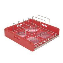 Opvaskekurv med 6 bøjler til Special bakker Rød product photo