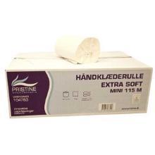 Håndklæderulle Pristine Extra Soft 1-lag 115 m uden Hylse Nyfiber product photo