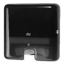 Dispenser Håndklædeark Tork Xpress multifold H2 Mini til Interfold Plast Sort product photo