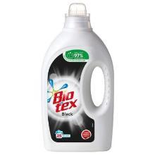 Tøjvask Bio Tex Flydende Black medParfume uden blegemiddel/optisk Hvid 1250 ml product photo