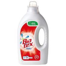 Tøjvask Bio Tex Flydende White med Parfume/ blegemiddel/optisk Hvid 1250 ml product photo