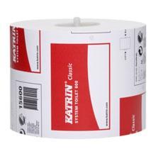 Toiletpapir Katrin Classic System 2-lag Ø317x100 mm 100 m Hvid product photo