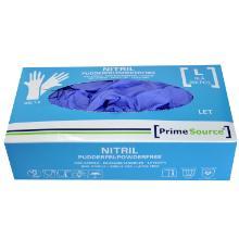 Handske Engangs Prime Source Nitril L LET uden pudder AQL 1.5 200 stk Blå product photo