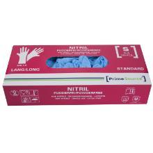 Handske Engangs Prime Source Nitril S LANG uden pudder AQL 1.5 100 stk Blå product photo